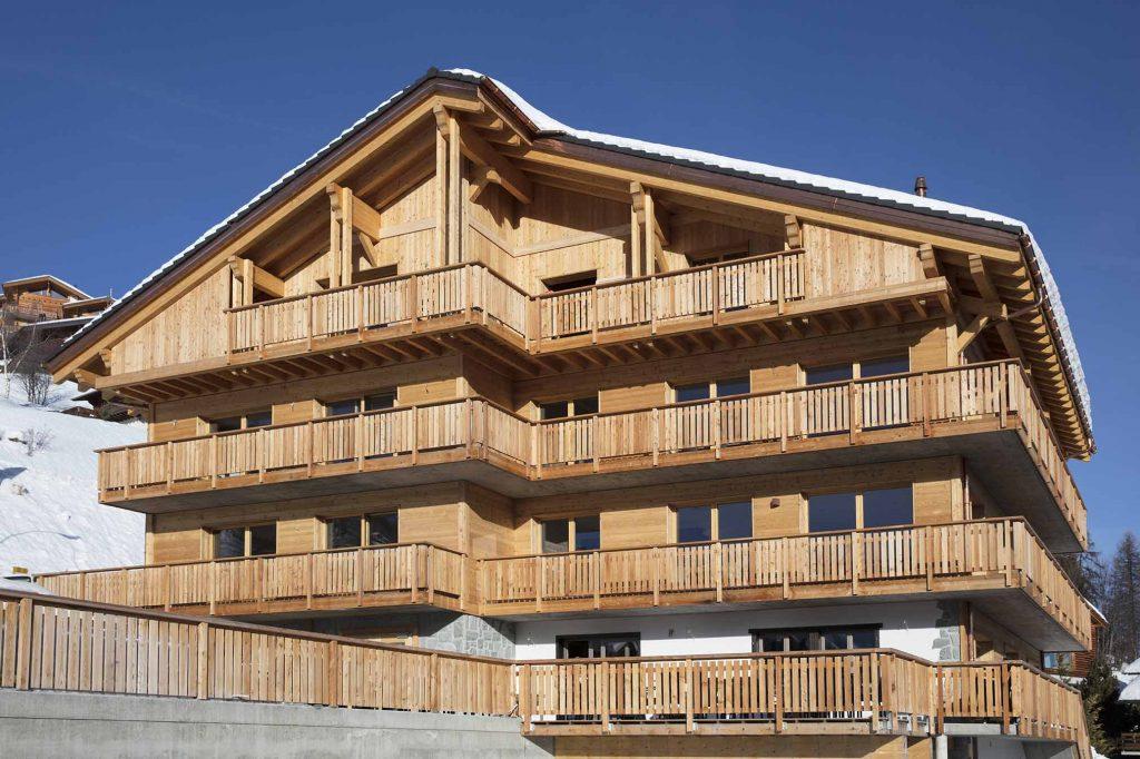 Entreprise de construction - chalets en bois - rénovation - Suisse Romande